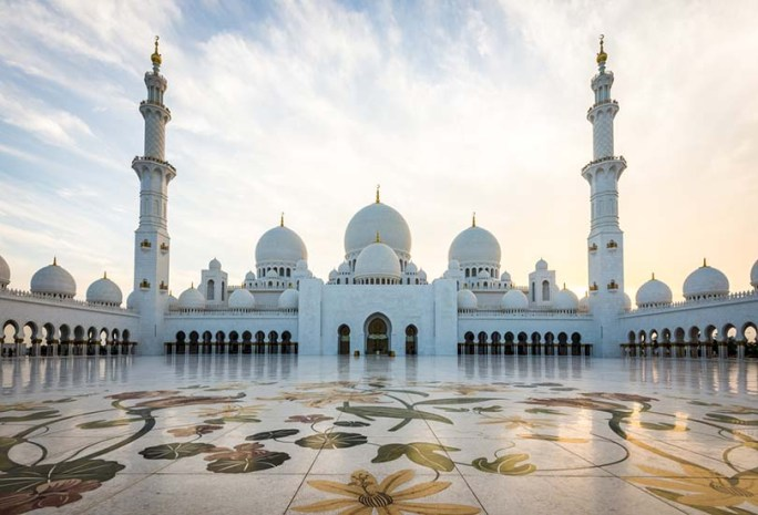 Visit to Sheikh Zayed Grand Mosque