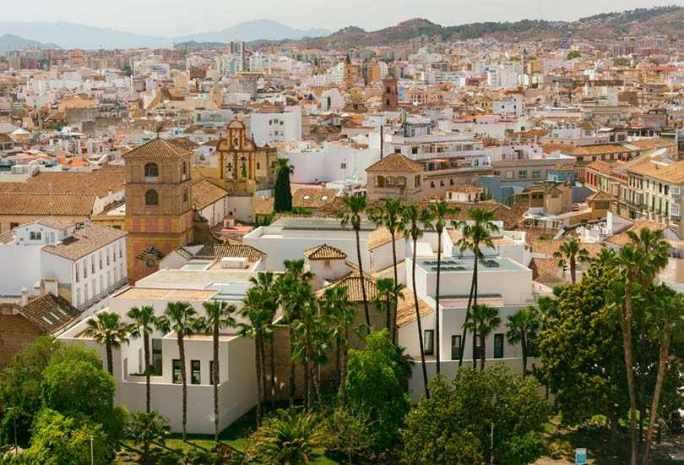 Málaga, Spain – Beautiful Port city of Spain's Costa del So