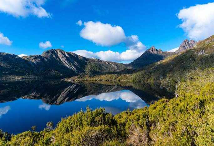 Cradle Mountain and City of Hobart - Tasmania
